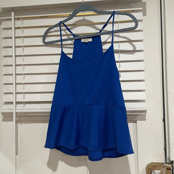Madewell blue camisole top
